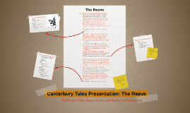 Canterbury Tales Presentation: The Reeve