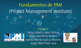 Copy of Fundamentos de PMI