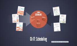 USMA DSE EM420: Scheduling