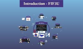Introduction - FIF3U