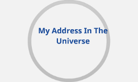 My Address In The Universe
