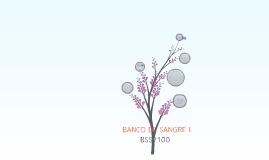 BANCO DE SANGRE I