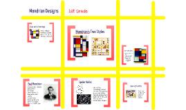 Mondrian Designs
