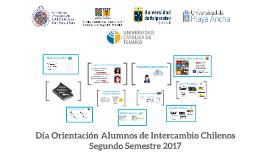 Día Orientación Alumnos de Intercambio Chilenos