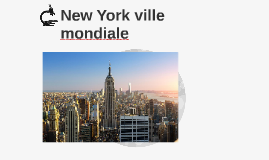Dissertation writing nyc ville mondiale