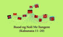 Copy of Buod ng Noli Me Tangere