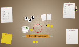 Crime Board Q-highschool