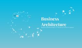 Capstone (Business Architecture)
