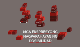Copy of MGA EKSPRESYONG NAGPAPAHAYAG NG POSIBILIDAD