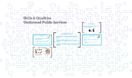 Skills & Qualities
