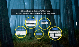 Alcoholism and Couples