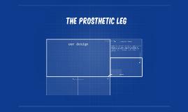 the prosthetic leg