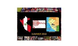 WGC Immersion Trip Peru Summer 2018