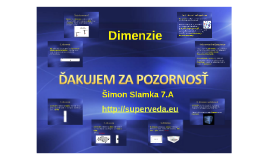 Dimenzie Simon Slamka