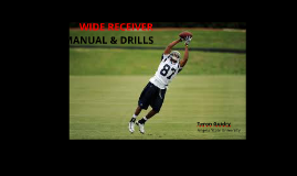 Wide Receiver Manual & Drills