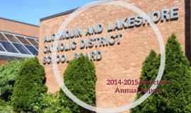 2014-2015 Director's Annual Report