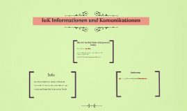 IuK Informationen und Komonikationen