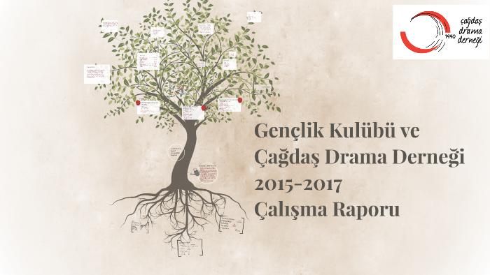 Genclik Kulubu Ve Cagdas Drama Dernegi 2015 2017 By Pinar Saatci