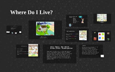 For My Literature Integration I Chose To Use Where Do I Live By Read where do i live? prezi