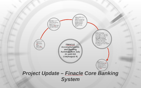 Project Update – Finacle Core Banking System by Louise