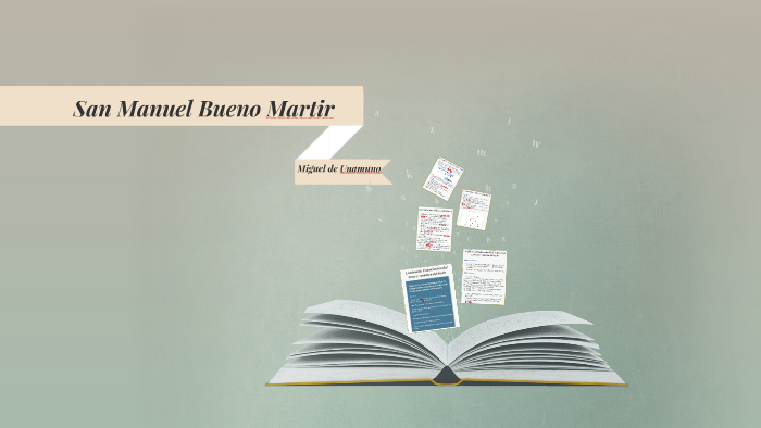 San Manuel Bueno Martir By Mg Monte