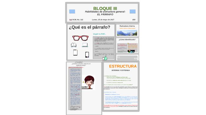 Habilidades De Estructurtura General El Párrafo By Laura