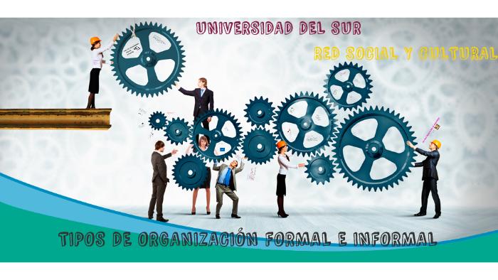 Tipos De Organización Formal E Informal By Jonathan Gonzalez