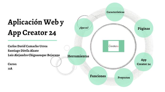 Aplicacion Web y App24Creator by luis carlos santiago on
