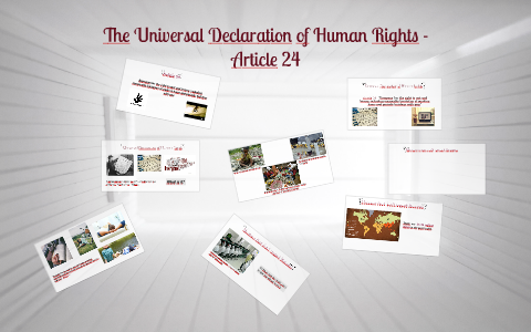 article 24 declaration of human rights