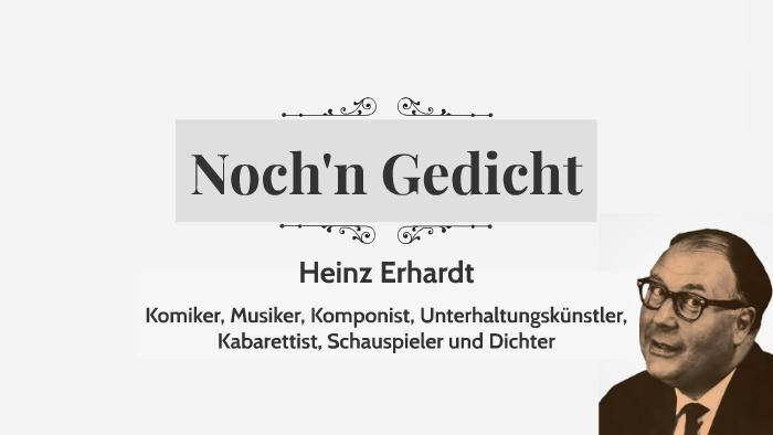 Heinz Erhardt By Nika Ritch On Prezi