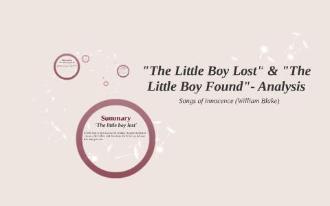 a little boy lost william blake