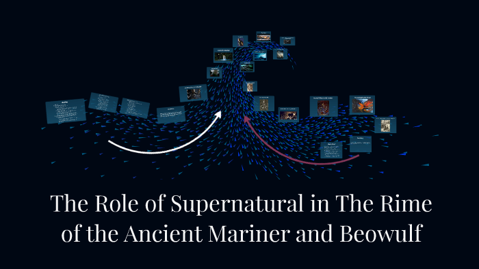 supernatural element in the rime of ancient mariner