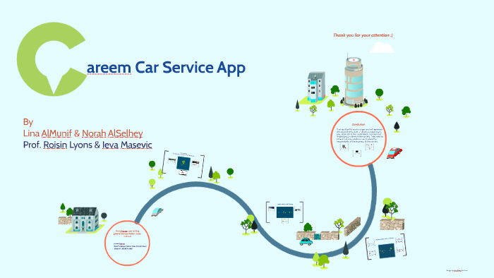 areem Car Service App by on Prezi