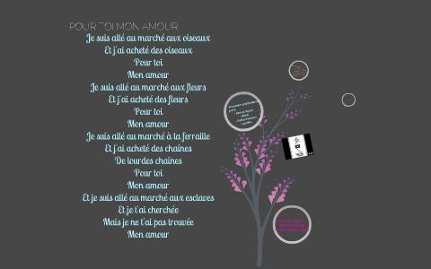 Pour Toi Mon Amour By Me You On Prezi