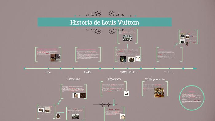 Historia de Louis Vuitton by Renata Vega on Prezi c7667817d43