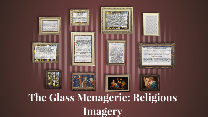 imagery in the glass menagerie