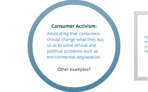 Consumer activism by Communication Studies