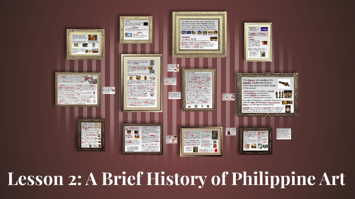 Lesson 2: A Brief History of Philippine Art by Gabby Zayco