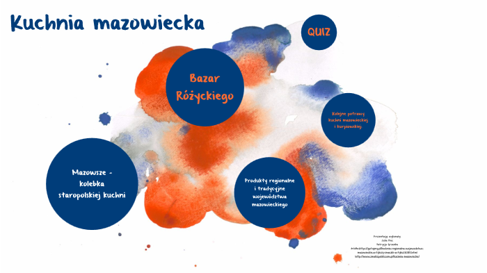 Kuchnia Mazowiecka By Julia Piec On Prezi Next