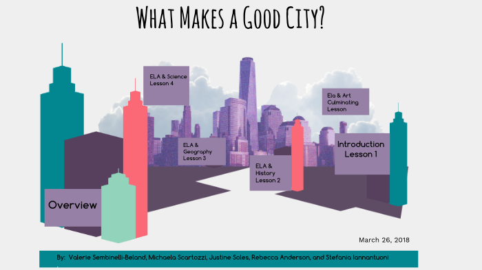 what makes a city desirable to live in