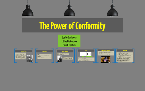 Conformity by Sarah Lentini on Prezi