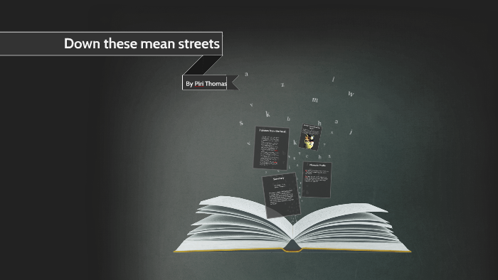 these mean streets by piri thomas