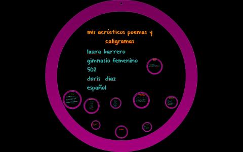 Mis Acrósticos Poemas Y Caligramas By Prezi User On Prezi