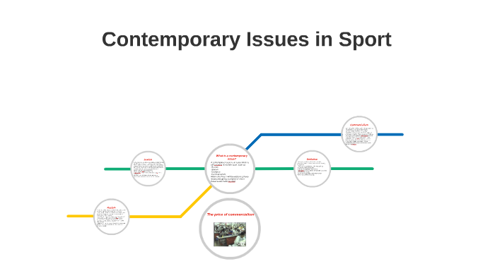 what are contemporary issues in sport