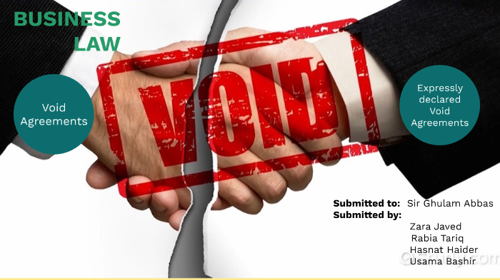 Void Agreements By Z Jav On Prezi Next