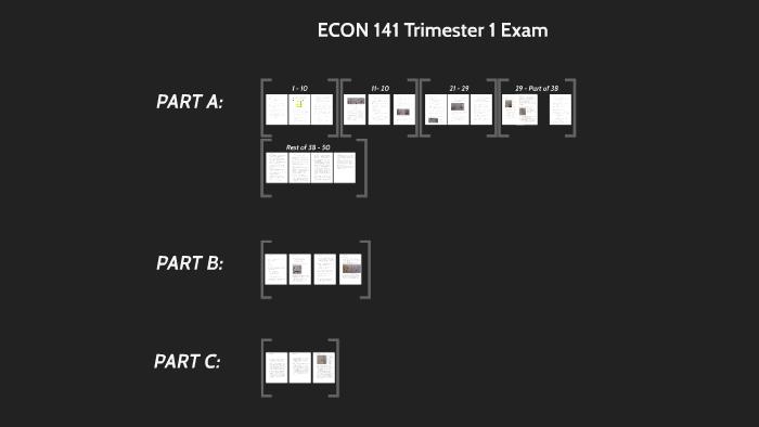 ECON 141 Trimester 1 Exam by Liam Gillies on Prezi