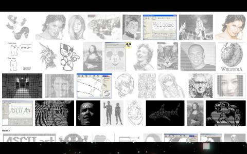 Ascii art bilder