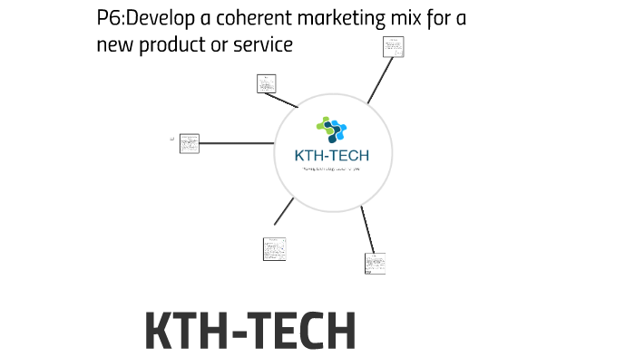 coherent marketing mix