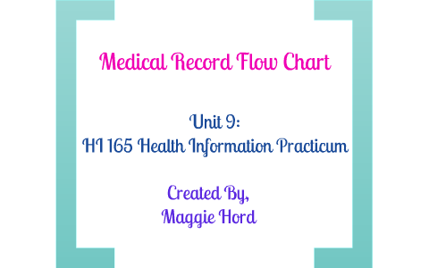 Medical Record Flow Chart By Maggie H
