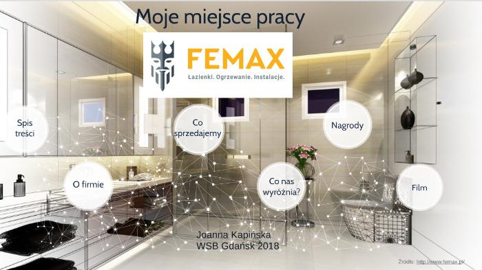 Joanna Kapińska Femax Moje Miejsce Pracy By Laura Pokorowska